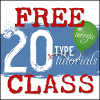 20 Terrific Type Tutorials Class