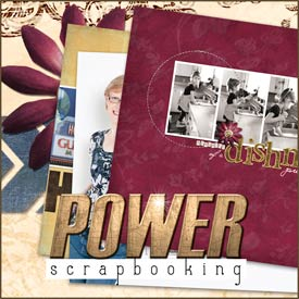 Power Scrapbooking Class