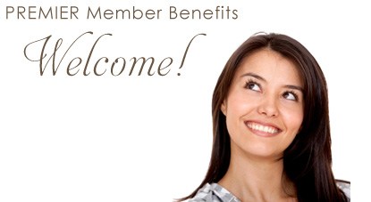 Premier Member Benefits -- Welcome!