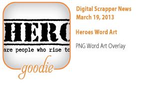 Heroes WordArt