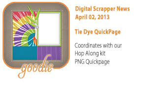 Tie Dye QuickPage