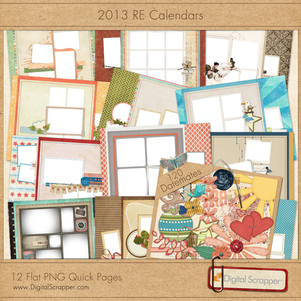 2013 Calendar: PNG QuickPages