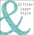 glitter layer style