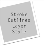 stroke outlines style
