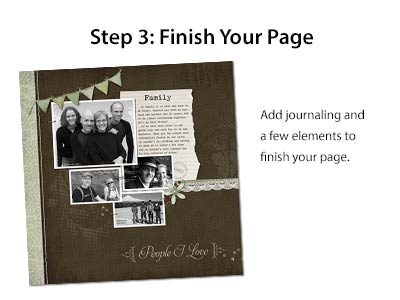 Step 3: Finish Your Page