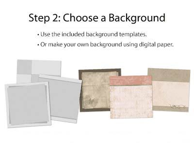 Step 2: Choose a Background