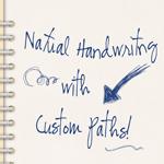 Natural Handwriting with Custom Paths