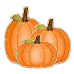 Create a Cute Pumpkin Cluster—Transform, Dodge, and Burn