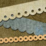 Easy Scalloped Strips Tutorial